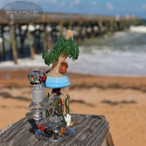 Empire Glassworks Paradise Island Mini Rig