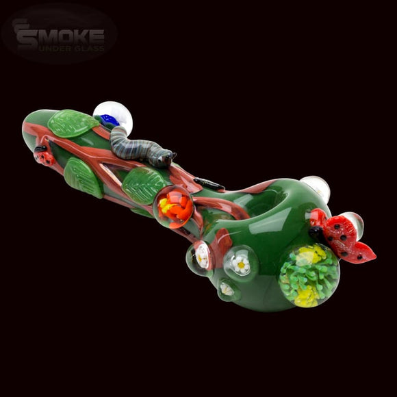 Empire Glassworks Garden Critters Spoon Hand Pipe