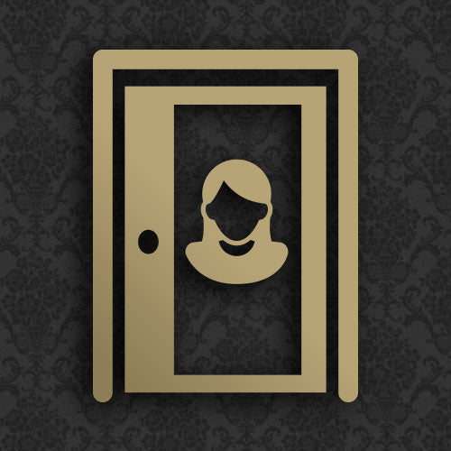 Female Celebrity Door Posters