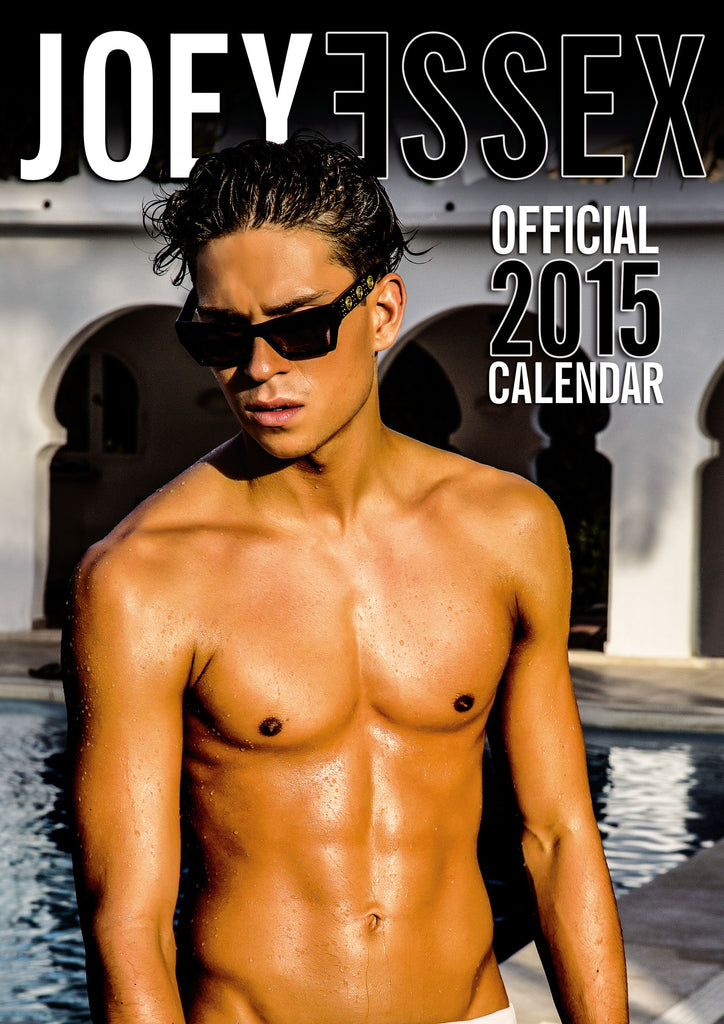 Joey Essex Official 2015 Calendar