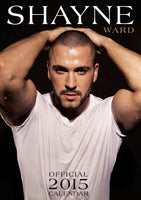 Shayne Ward Official 2015 Calendar