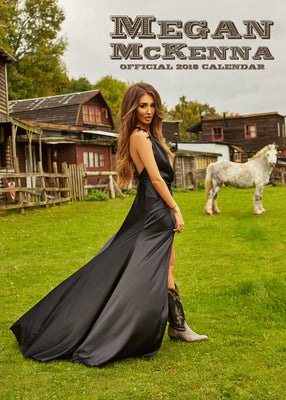 Megan McKenna Official 2018 Calendar