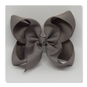 4 Inch Boutique Bow - Black to White