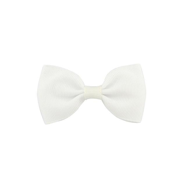 2.5 Inch Tuxedo Hair Bows - Black to Whites
