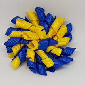 3 Inch Korker - Royal Blue and Daffodil