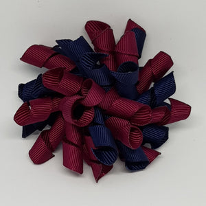 3 Inch Korker - Navy and Wine