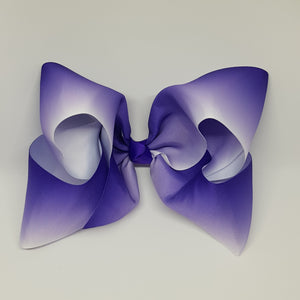 8 Inch Boutique Bow - Graduating to Whites