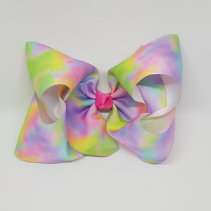 8 Inch Boutique Bow - Tie Dye