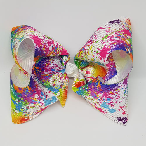 8 Inch Boutique Bow - Graffiti
