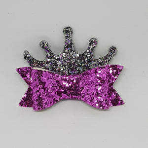 2.75 Inch Ivy Princess Bow - Sugar Plum Fairy