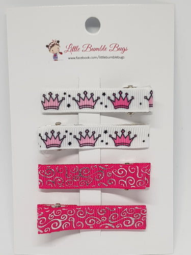 Essentials Clip Set - Pink Princess