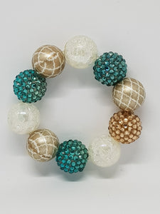 Bubblegum Bling Bracelet - Merida