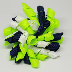 3 Inch Korker - Navy, Key Lime and White