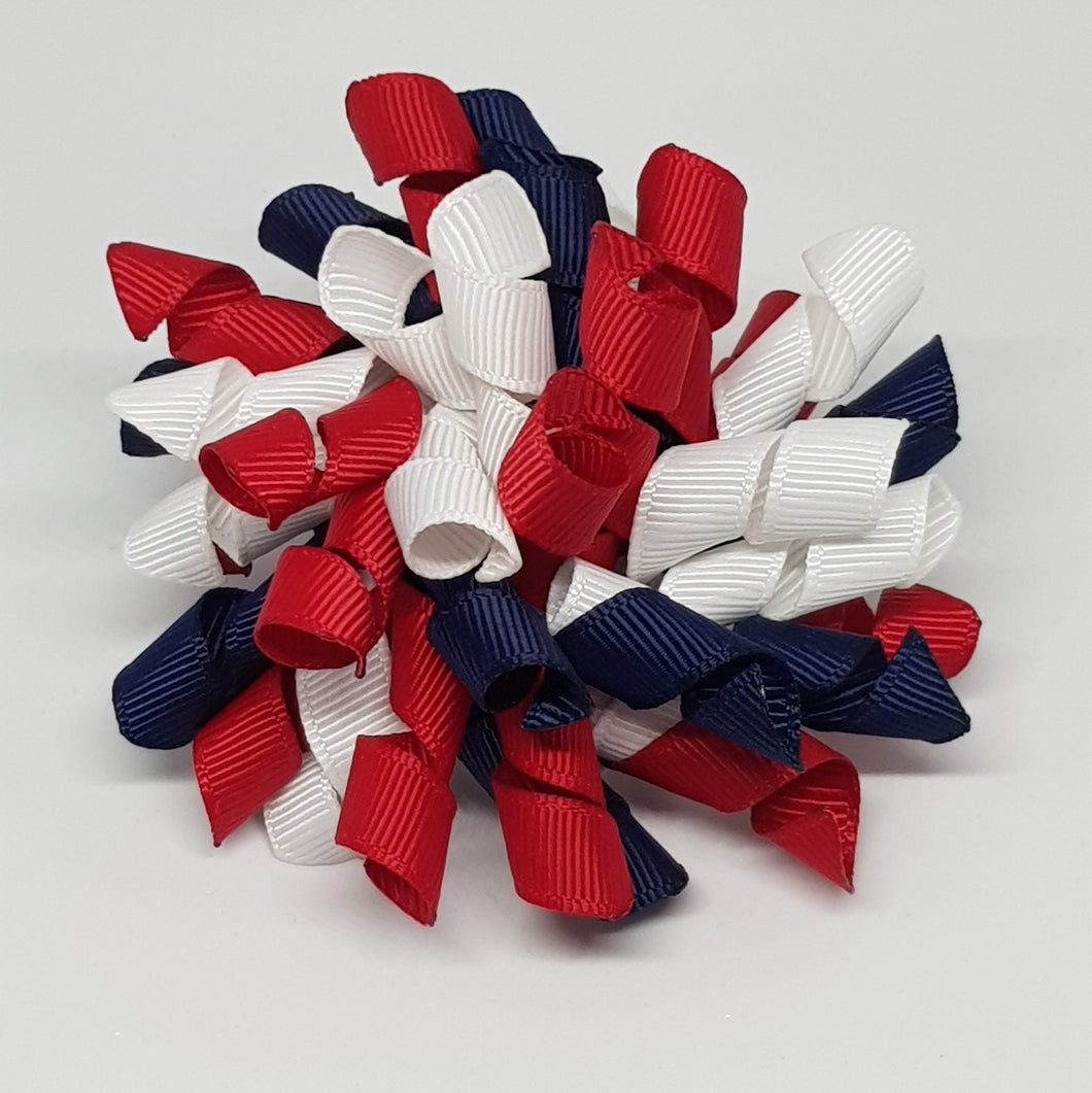 3 Inch Korker - Red, Navy and White