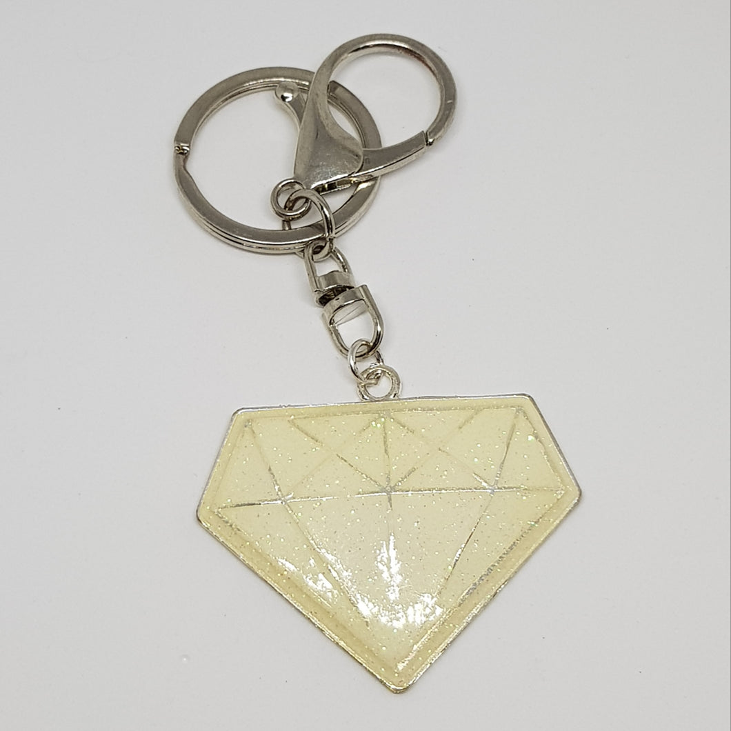 Key Ring / Bag Bling - Diamonds are a Girl's Best Friend
