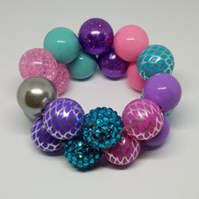 Bubblegum Bling Bracelet - Mermaid Princess