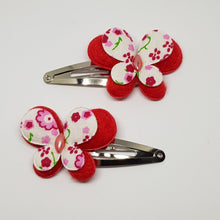 5 cm Snap Clips - Large Butterflies