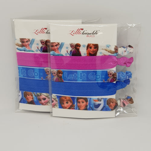 Yoga Hair Tie Set - Frozen