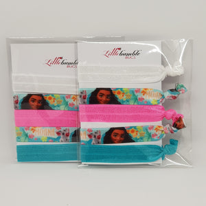 Yoga Hair Tie Set - Moana
