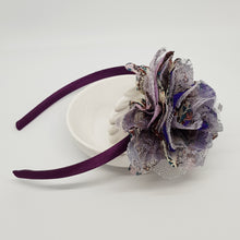 Flower Headband - Large Floral Lace Flowers