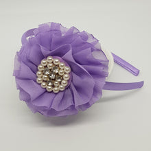 Headbands - Large Parisian Flowers