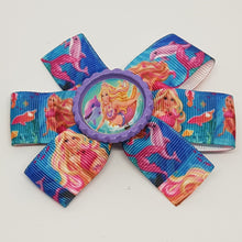 3.5 Inch Pinwheel Bow - Barbie