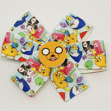 3.5 Inch Pinwheel Bow - Adventure Time