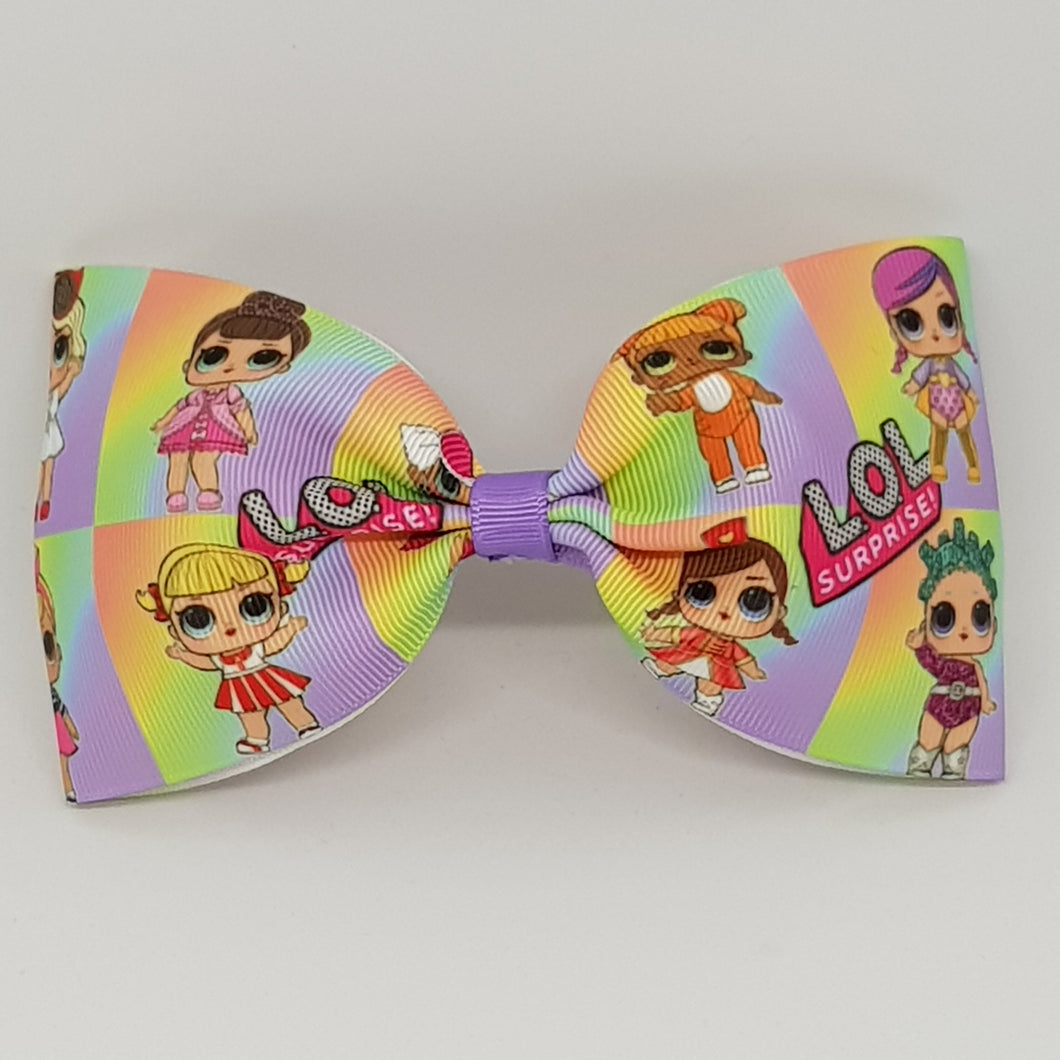 6 Inch Tailless Cheer Bow - LOL