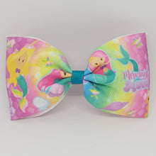 6 Inch Tailless Cheer Bow - Mermaid Squad