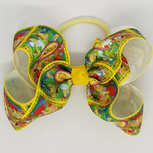 4 Inch Boutique Bow - Alice in Wonderland
