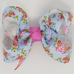 2.5 Inch Boutique Bow - Floral