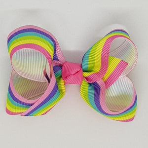 2.5 Inch Boutique Bow - Stripes