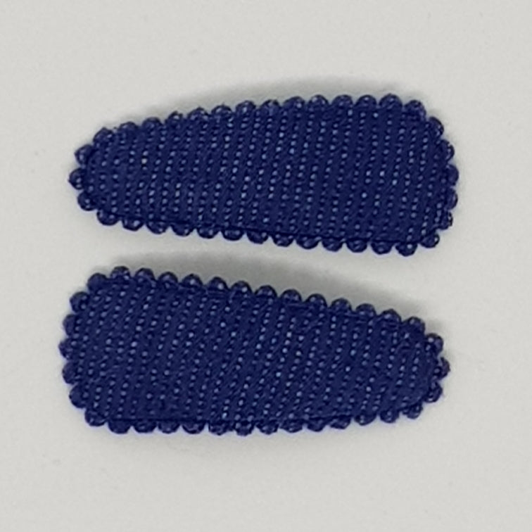 3 cm Baby Snap Clip Sets of 2 - Denim