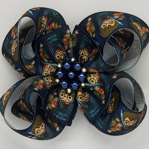 3.5 Inch Belle Fleur Bow - Harry Potter