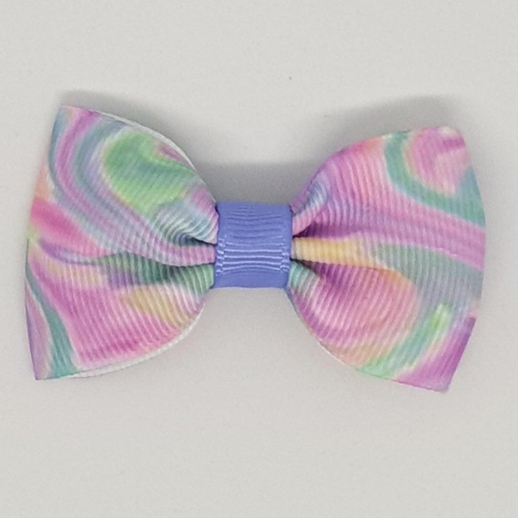 2.5 Inch Tuxedo Hair Bows - Camouflage