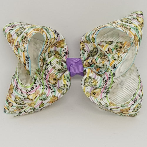 4 Inch Boutique Bow - Pretty Kitty