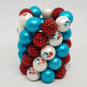 Bubblegum Bling Bracelet - Ariel Inspired