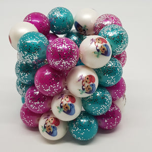 Bubblegum Bling Bracelet - Shimmer & Shine Inspired