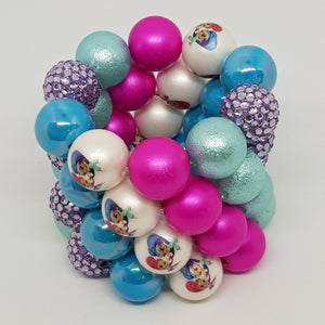 Bubblegum Bling Bracelet - Shimmer & Shine Inspired 2