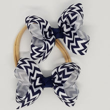 2.5 Inch Boutique Bow - Chevron