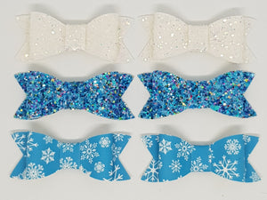 2.75 Inch Ivy Winter Wonderland Bows