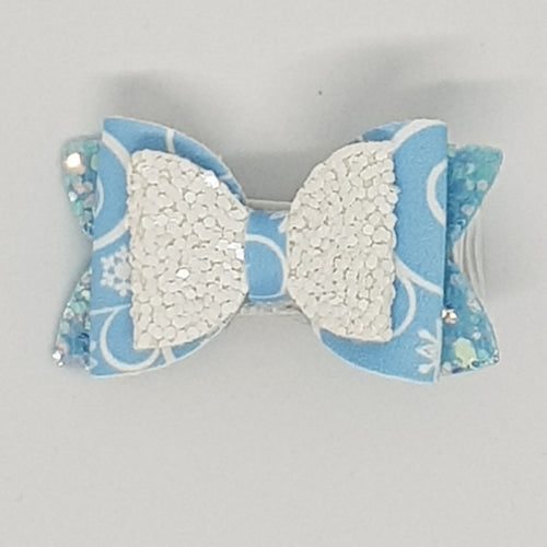 1.75 Inch Baby Imogen Bow - Winter Wonderland