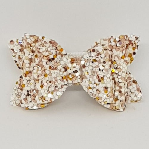1.75 Inch Baby Imogen Bow - Sprinkle of Gold