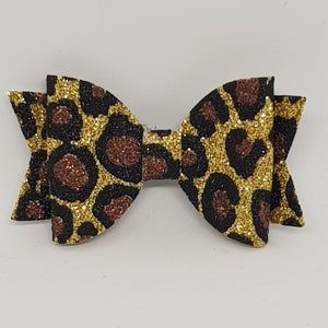2.5 Inch Baby Natalie Bow - Animal Print