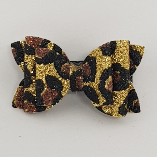 1.75 Inch Baby Imogen Bow - Animal Print