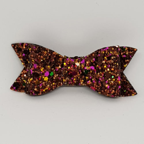 2.75 Inch Ivy Bow - Fallen Leaves