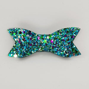 2.75 Inch Ivy Bow - Peacock