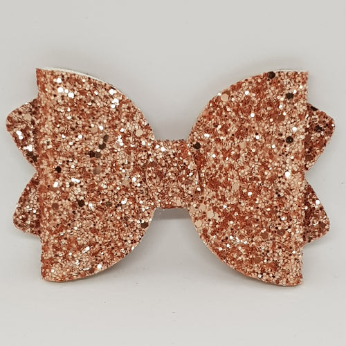 4.25 Inch Ava Bow - Rose Gold