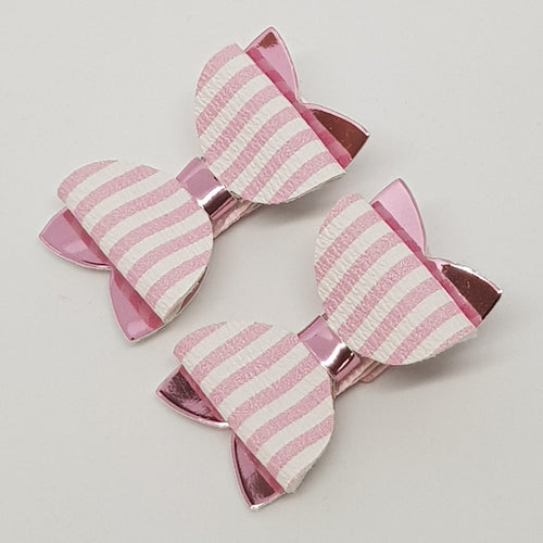 1.75 Inch Baby Imogen Bow - Candy Stripes