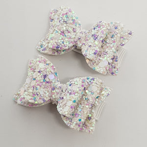 1.75 Inch Baby Imogen Bow - Unicorn Tears